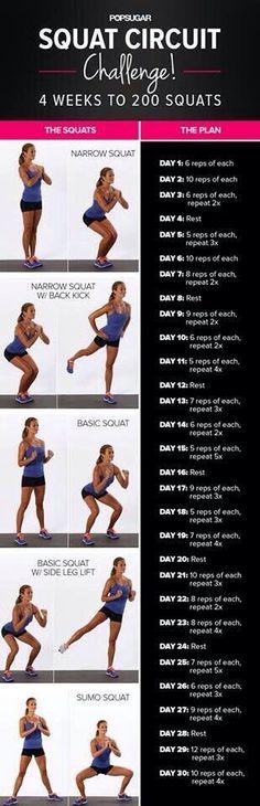 squat circuit challenge