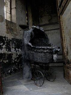Abandoned cradle..