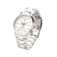 Epoca watch, Steel/White