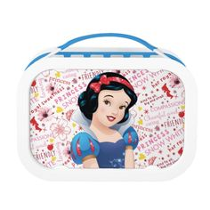 Shop Princess Snow White Lunch Box created by DisneyPrincess. Personalize it with photos & text or purchase as is! School Lunch Box, Lunch Boxes, Snow White Seven Dwarfs, Lunch Table, Disney Princess Snow White, Disney Merchandise, Cute Disney, Disney Family, Unique Gifts