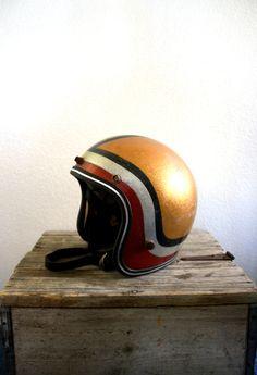 glitter helmet