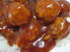 crockpot sweet and sour meatballs...super simple but crazy good. I keep frozen meatballs and sweet & sour in the house for this purpose :)