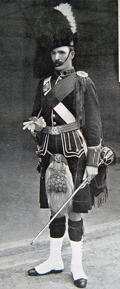 Gordon Highlander 2nd Btn.    Sgt. Maj. Boer War1899