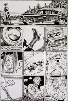 Frederik Peeters - Pachyderme page 69 par Frederik Peeters - oeuvre originale