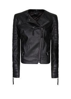 MANGO - Padded panels perfecto jacket