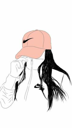 100 iPhone Wallpapers For People Who Love there phones Tumblr Girl Drawing, Tumblr Drawings, Girly Drawings, Outline Drawings, Art Drawings, Drawing Wallpaper, Cute Wallpaper Backgrounds, Girl Wallpaper, Cute Wallpapers