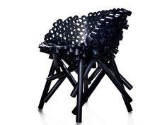 Chaise PP tube par Tom Price