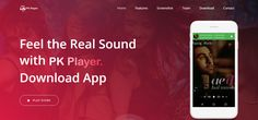 PK Player - A Music Player Stylish , Powerful and Fast Music Player with elegant design . Music Player lets you manage all your music files quickly and easily #android #music #songs #audio #playstore