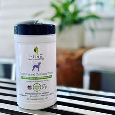 Spot clean your dog!🐕🐾 #repost @vetnaturally Ok healthy minded mommas... we got you! @PUREandnaturalpet grooming and cleansing pet wipes.... made with organic lavender and rosemary oil. 1) for when you walk your dog and people try to pet him🛑 🤚🏻 🐶 2) wiping the booty after a poopy  3) gentle ear cleansing  4) freshen up between baths  5) a wipe down before bedtime.. since we know you sleep together in the same bed😍 💜💜💜 Spot Cleaner, Organic Oil, Bedtime, Baths, Doggies, Cleanse, Your Dog, Lavender, Essentials