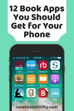 These book apps are great for all book lovers whether you're looking for free books, book recommendations, or organizational tools. Must Read Novels, Free Books To Read, Free Books Online, Good Books, Journal App, Self Development Books, Learning Websites, 12th Book, Books For Teens