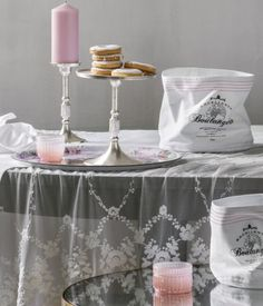 Set the scene with pastel pink candles & glass tea light holders from the H&M Home collection. | H&M Pastels