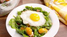 Breakfast Bacon and Egg Salad