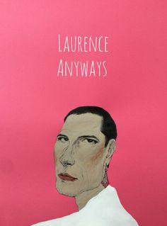 Laurence Anyways illust by @wisdomkimm (instagram)