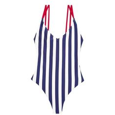 Fashion Advice, Fashion News, Greece Outfit, Best Swimsuits, Blue Swimsuit, Navy Stripes, Beachwear, Looks Great, Casual Outfits