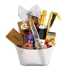 Alder Creek Sparkling New Year's Gift Basket, Multicolor