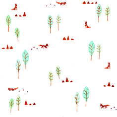 Wandering foxes