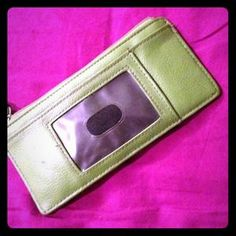 I just discovered this while shopping on Poshmark: Green wallet. Check it out!  Size: OS