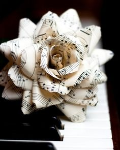 What a pretty paper flower!