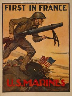 First In France, U.S. Marines