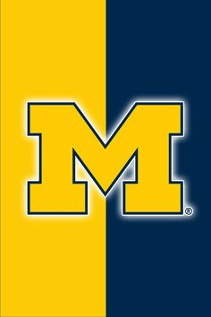 Get a Set of 12 Officially NCAA Licensed Michigan Wolverines iPhone Wallpapers s. - My Wallpaper Michigan Gear, Michigan Colors, Michigan Go Blue, State Of Michigan, Detroit Lions Football, Michigan Wolverines Football, Detroit Sports, Nfl Football Teams, University Of Michigan