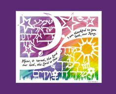 Hear O Israel - I am Thankful