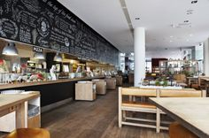 Nicest place to get pasta and pizza - fast, but not fastfood. Vapiano Hobujaama restaurant in Tallinn, Estonia