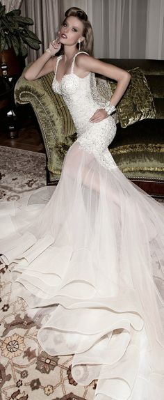 Galia Lahav : Tales of the Jazz Age Bridal Collection - Part I - Belle The Magazine