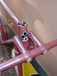 """kinkicycle: """" 1979s Colnago Master Track Prototype by PrincipeD∧l """""""