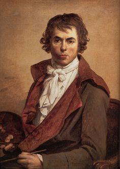 CELESTE AMARULLA    Le grand  Jacques Louis David Autoportrait