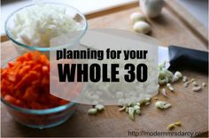Planning for your #whole30, with tips, tricks, and Whole 30 approved recipes to make your 30 strict #paleo days a success.