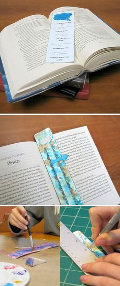 {Custom Bookmark Printables} *to inspire the young artists and readers in our lives...