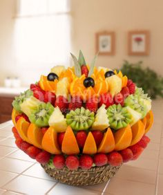 Fruit Beano Meyve Sepeti | Fruit Flowers