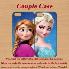 frozen iphone 5c case,iphone 5c cover,cute iphone 5c case,iphone 5s case,iphone 5s cases,iphone 5s cover,iphone 5 case,in plastic,silicone. by CrownCase88, $28.99