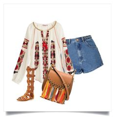 Boho by lexy24 on Polyvore featuring Calypso St. Barth, Glamorous, KG Kurt Geiger and Chloé