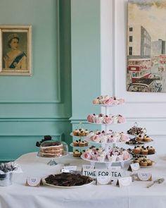 Shake My Blog | Un mariage Tea Party