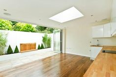 Bi-fold doors let the best of the outdoors in.
