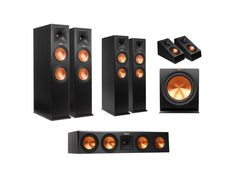 RP-280 5.1.4 DOLBY ATMOS® SYSTEM Black (# sys-rp280514-black) The Reference Premiere RP-280 5.14 Dolby Atmos® system is the pinnacle of home theater technology. Experience the full Dolby Atmos experience with overhead sound, state-of-the-art audio mixing and high-performance acoustic technology. Be completely immersed in your movies and music.  Features: (2) RP-280FA, (1) RP-450CA, (2) RP-260F, (1 Pair) RP-140SA, (1) R-115SW