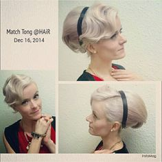 Dec 16th 2014 at 博愛慈善餐舞會 - 上海之夜! Thk u Match Tong @ HAiR for this classic hairstyle to match!