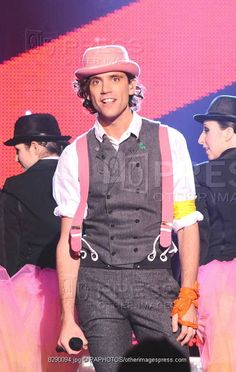 Mika on So You Think You Can Dance 2009