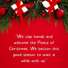 Welcome merry christmas peace quotes happy holidays festive season messages. Our hearts grow tender with childhood memories and love of kindred, and we are better throughout the year for having, in spirit, become a child again at Christmas-time. #welcomechristmasquotes #happychristmasquotes #christmasseasonquotes Merry Christmas Quotes Jesus, Short Christmas Wishes, Christmas Wishes Messages, Merry Christmas Funny, Christmas Greetings, Christmas Time, Inspirational Christmas Message, Wishes For Friends, Peace Quotes
