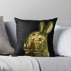 """Intriguing Hare"" Bath Mat by YollieBeeArt   Redbubble"