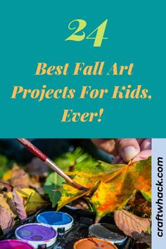 When the school year begins, one of the most popular art projects is a Fall theme. Been there, done that, right? Apples, pumpkins, Fall-colored leaves, etc. Are your children getting bored? You want them to be excited about this crisp and colorful season. So what is a parent to do? Craftwhack brings you 24 unique Fall art projects. Your child can do each project multiple times and the result will come out differently each time. The more the merrier. See the full list. #artfall #art4kids…