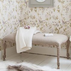 NEW! Rolled Rope Bench Table     Blanket Boxes & Bedroom Benches     Seating     French Bedroom Company