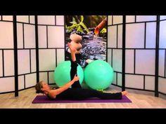 Pilates Ejercicio para Fortalecimiento de Abdominales, Cadera y Articulación de la Columna - YouTube