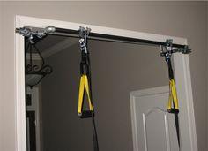 Interesting DIY Bodyweight home gym equipment