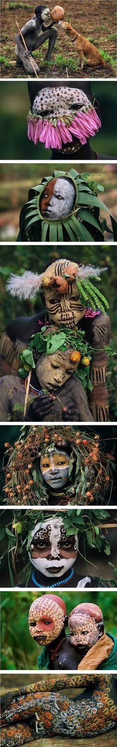 Etiopia, Le tribù della valle de l'OMO: