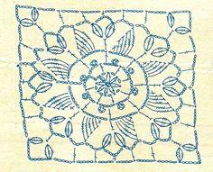 Crochet Motif | Crochetemoda