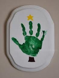 christmas tree hand