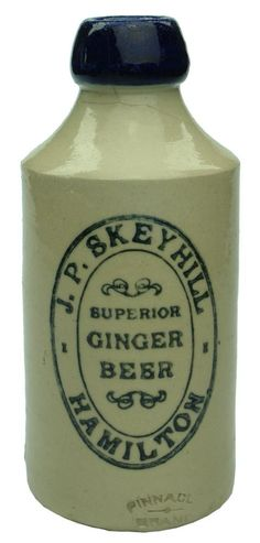 Auction 27 Preview   403   Skeyhill Superior Ginger Beer Hamilton Stone Bottle