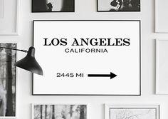 Los Angeles Prada Marfa Print Los Angeles by GalaDigitalPrints